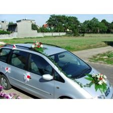 """Dekoracja samochodu """"Samochód Weselny 3"""""""